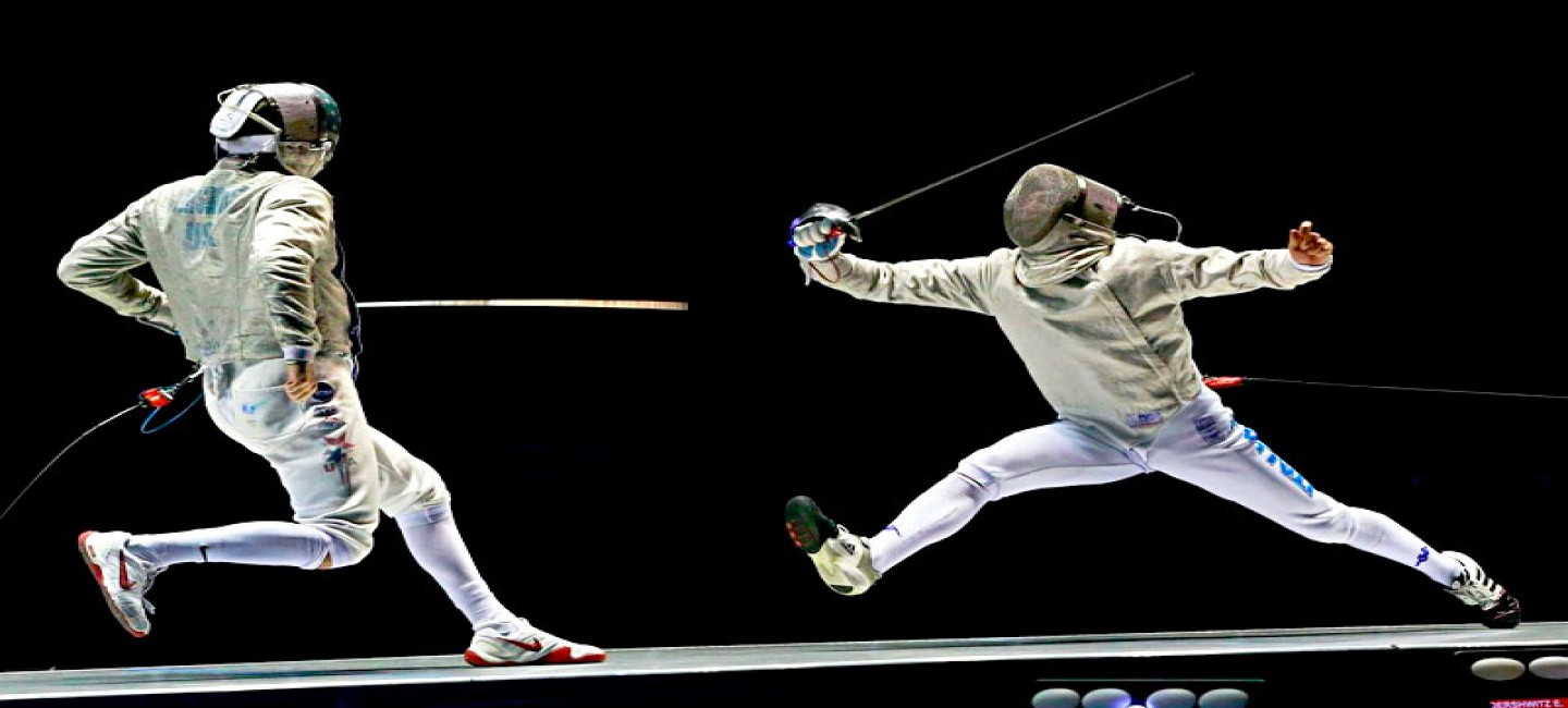 TURKMEN ATHLETE WON A GOLD MEDAL AT THE OPEN FENCING CHAMPIONSHIP
