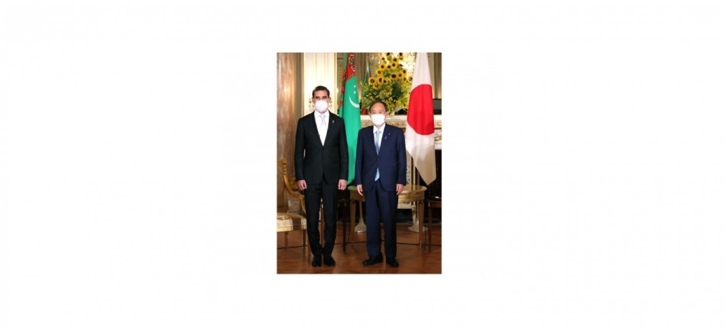 TURKMENISTAN AND JAPAN ARE COMMITTED TO THE TRADITIONAL BONDS OF FRIENDSHIP AND MUTUAL SUPPORT