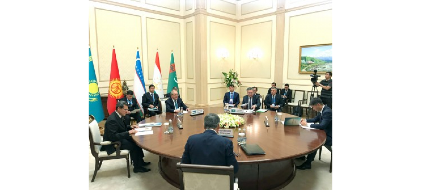 The Head of Foreign Ministry of Turkmenistan participates in the Tashkent meeting