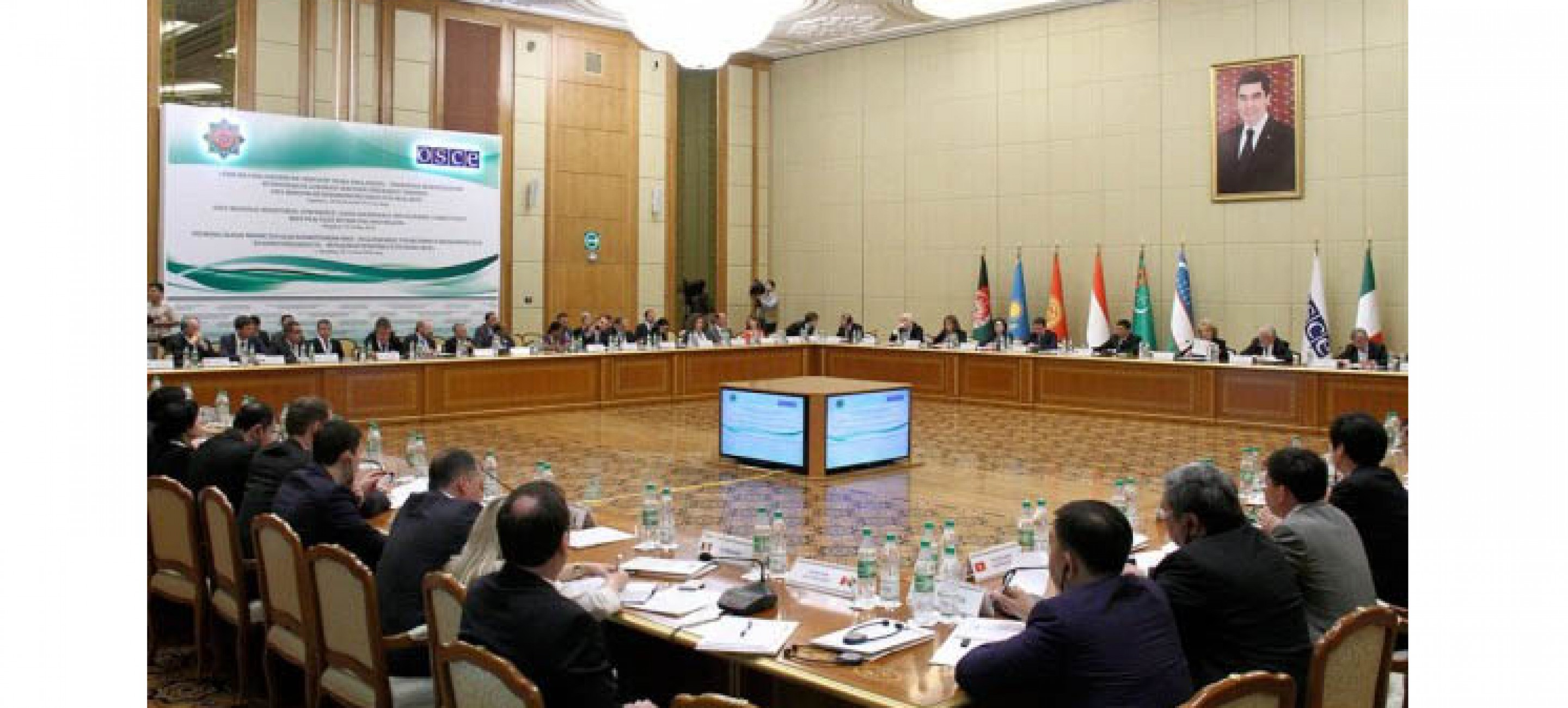 GOOD GOVERNANCE AND ECONOMIC CONNECTIVITY FOCUS OF OSCE REGIONAL MINISTERIAL CONFERENCE IN TURKMENISTAN