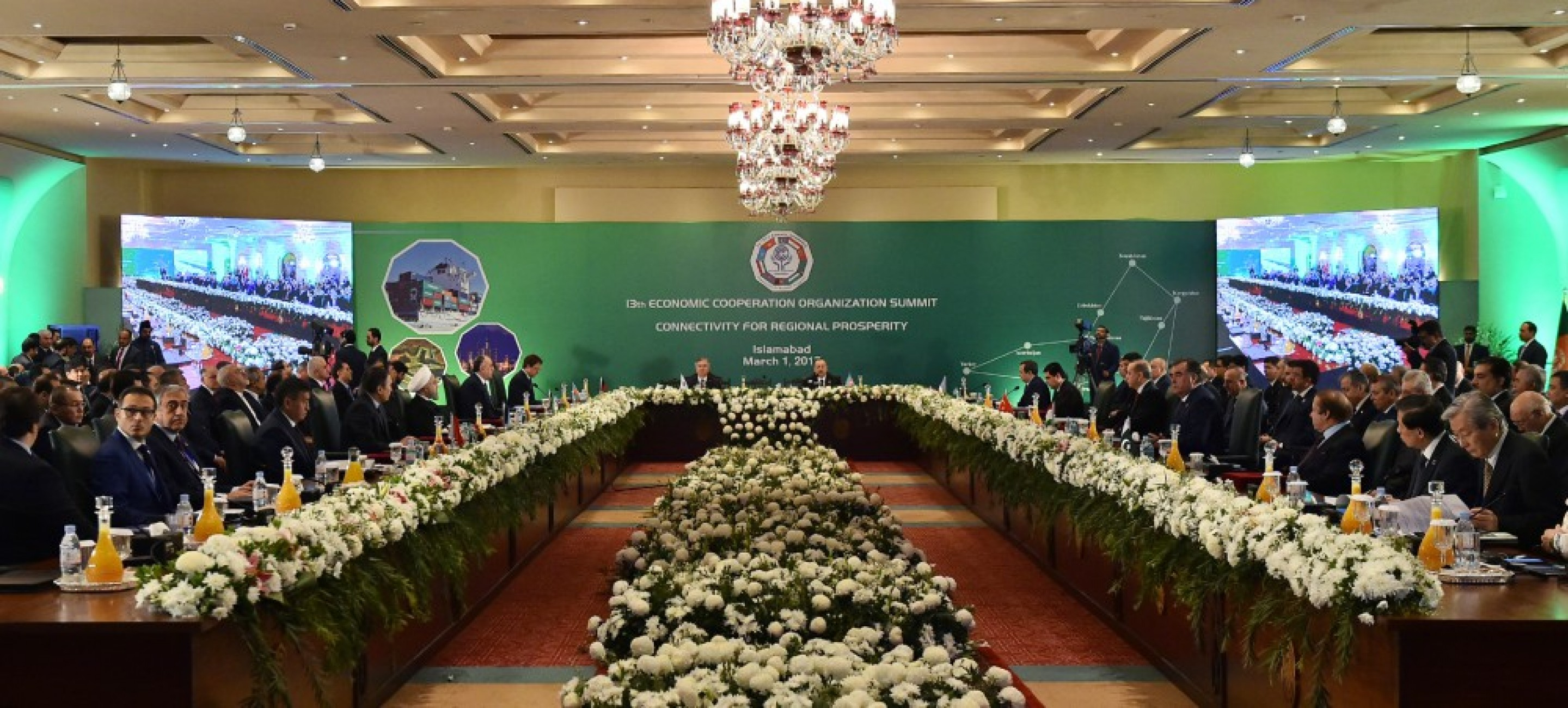 PRESIDENT OF TURKMENISTAN GURBANGULY BERDIMUHAMEDOV PARTICIPATED AT THE SUMMIT OF THE ECO IN ISLAMABAD